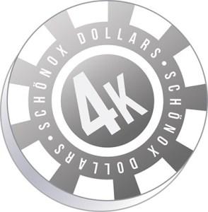 4K Poker Chip