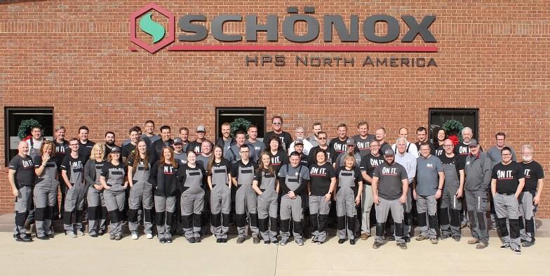 Schönox HPS North America Employee Group Photo