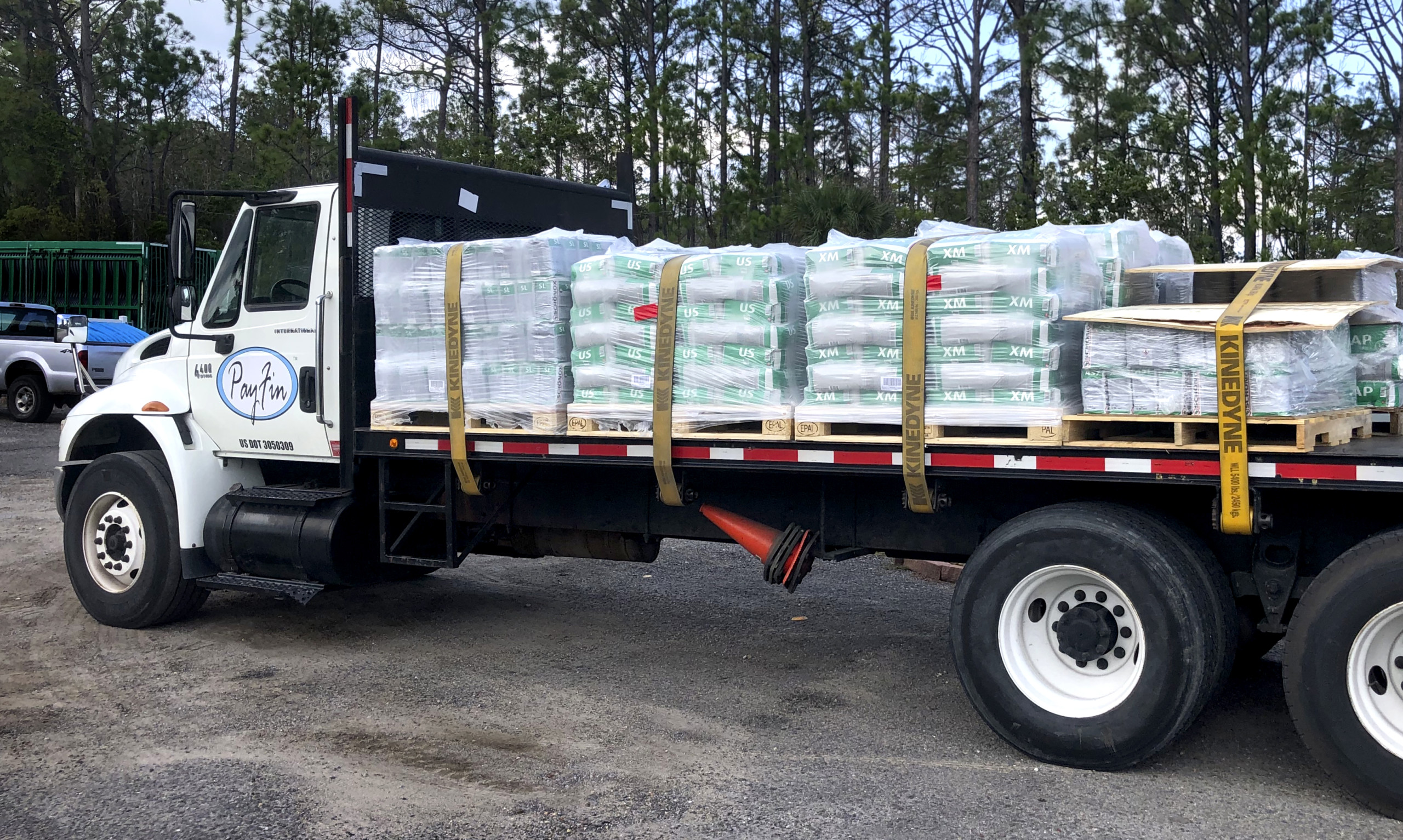 Payfin Distribution delivers to contractors in its Florida Panhandle region maximizing contractor time at the job site.