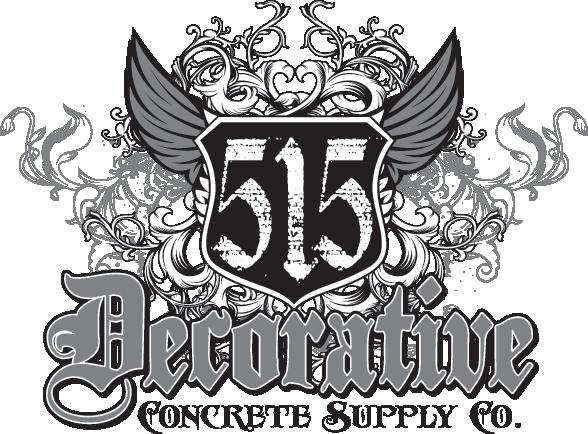 515 Decorative Concrete Supply Co. Logo